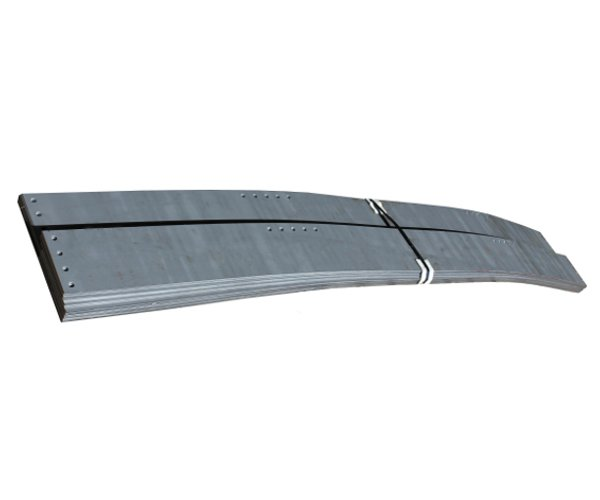 Wifco Steel Products Custom Fabricated 10 ft. Grade Bands with Grade Stake Mounting Holes