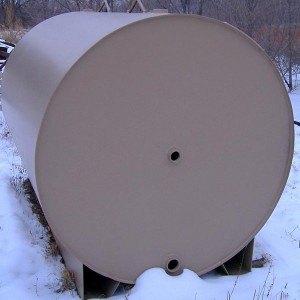 Wifco Steel Products Custom Fabricated 1,000 Gal Round Tank