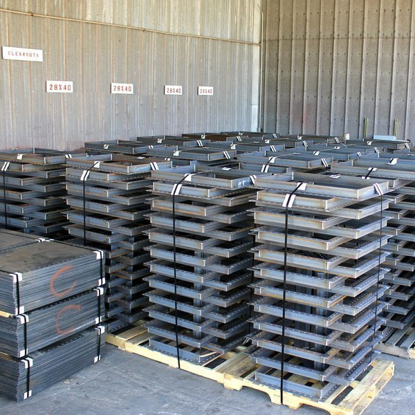 Wifco Steel Products Custom Fabricated Cleanout Frames Packaged (25 ea.)