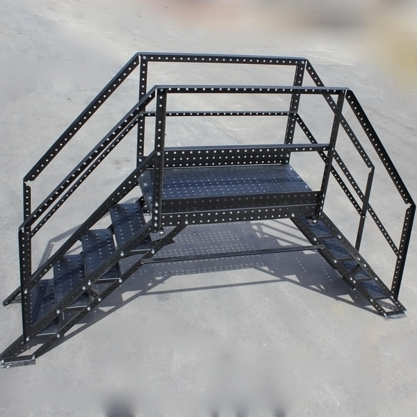 Wifco Steel Products Custom Fabricated Oil Tank Crossover Assembled