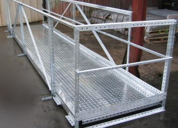Wifco Steel Products Custom Fabricated Oil Tank Walkway Extension