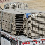 Wifco Steel Products Private Fleet Truck Carrying a Full Semi-Load (48,000 lbs)