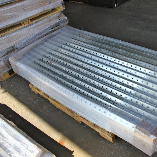 Wifco Steel Products Custom Fabricated Oil Tank Storage Stairway Galvanized Pre-cut Angle