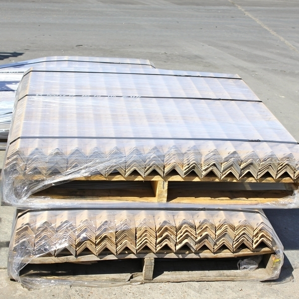 Wifco Steel Products Custom Fabricated Oil Tank Storage Stairway Pre-cut Angles Packaged for Delivery