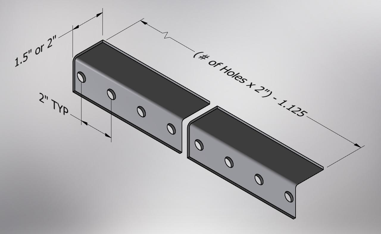 Wifco Steel Products Custom Fabricated Punched Angle