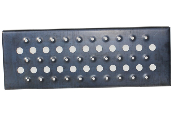"""Wifco Steel Products Oil Tank Storage Stairway Snow Step with 1"""" Holes"""
