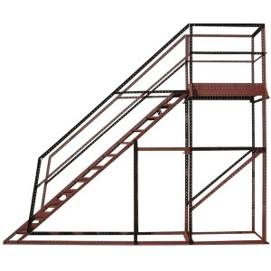 Wifco Steel Products Custom Fabricated Oil Tank Stand