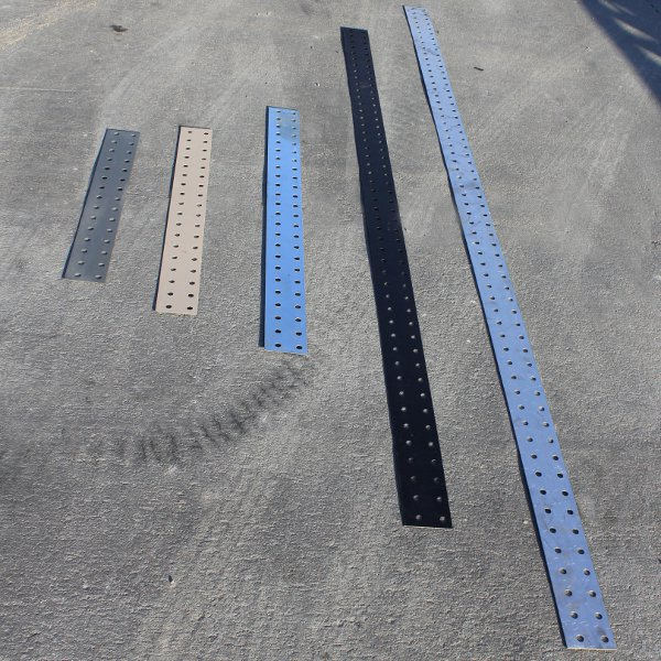 Wifco Steel Products Custom Fabricated Toe Boards in Multiple Lengths