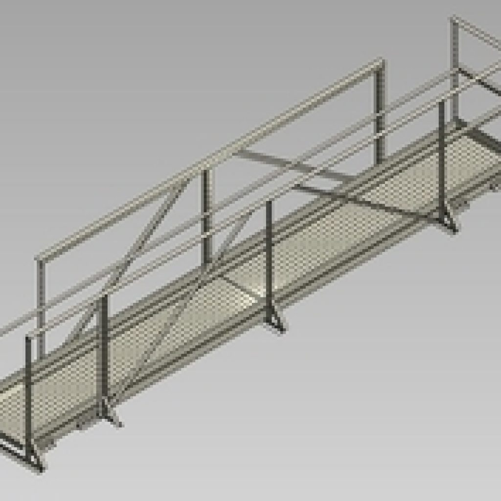 Wifco Steel Products Custom Fabricated Oil Tank Walkways and Extensions