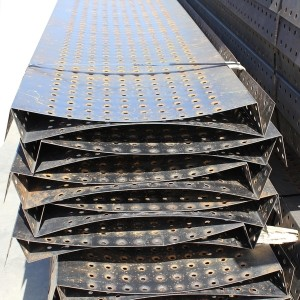 Wifco Steel Products Custom Fabricated Oil Tank Walkway Weld-on Pans with Reverse Bend