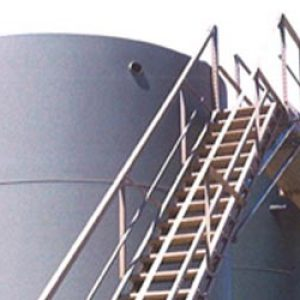 Wifco Steel Products Oil Tank Storage Stairway