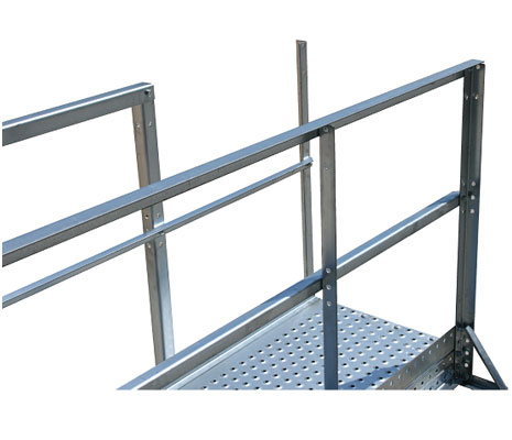 Wifco Steel Products Solid Design Oil Tank Stairway