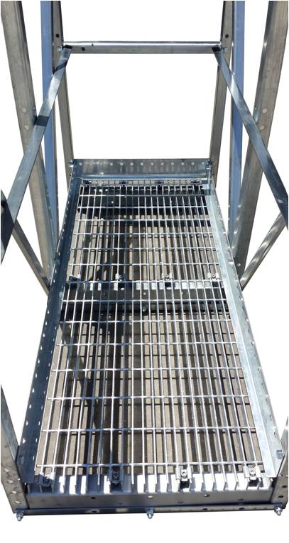 Wifco Steel Products Grated Surface Walkway